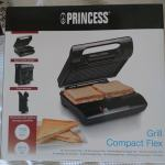 Princess Grill compact flex, Toster Grill NOVO