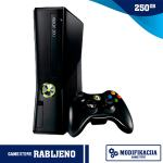 Xbox 360 250GB Slim + Modifikacija,RABLJENO!