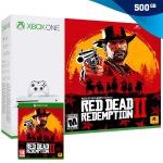 Xbox One S 500GB Slim + Red Dead Redemption II (2),NOVO!