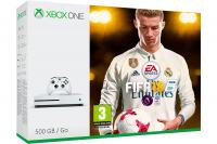 Xbox One Slim 500GB + FIFA 18 + Xbox Live Gold (XBox Slim - novo)
