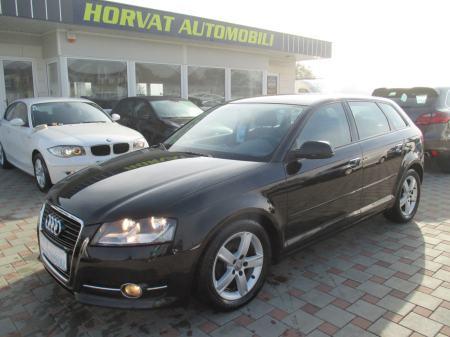 Audi A3 1,6 TDI Sportback; Aut.klima; Tempo;