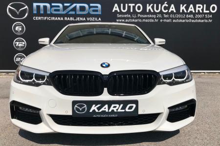 "BMW 520D M SPORTPAKET - HEAD UP-NAVI -ŠIBER- A/T- 19"" -  FULL !!!!"