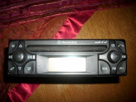 Mercedes benz cd player for Mercedes benz cd player