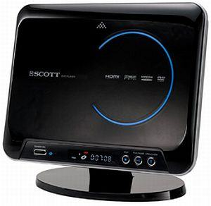 Scott HD DVD/CD player