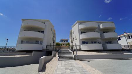 Apartmani Ražanac Novogradnja – 1. red uz more_objekt B