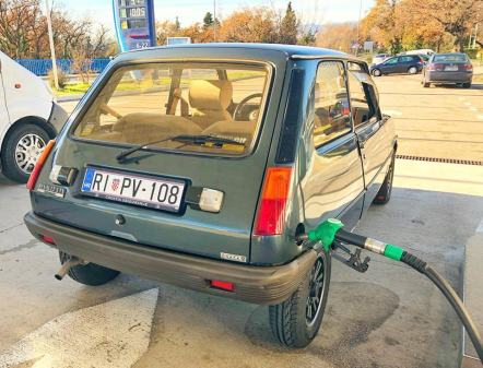 Renault 5 TX Automatic