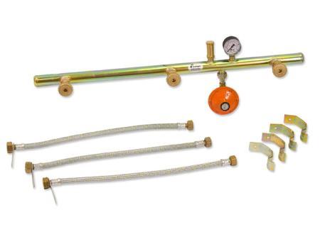 Plinska rampa za pojedinačno ili istovremeno korištenje plina iz ...