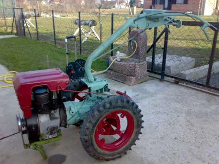 Motokultivator IMT 509 d,14 ks,motor Lombardini,ocuvan u dobrom stanju