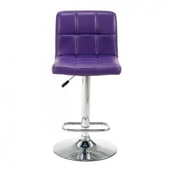 Barske stolice Manchester, ljubičaste, eko koža, u izvrsnom stanju ...