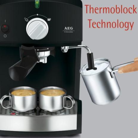 aeg electrolux ea 120 crema typ tsk 1062 espresso automat. Black Bedroom Furniture Sets. Home Design Ideas