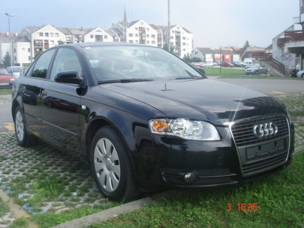 audi a4 2 0 tdi model 2006 103 kw 140 ks 2005 god. Black Bedroom Furniture Sets. Home Design Ideas