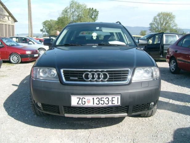 audi a6 allroad 2 5 tdi quattro automatik 2003 god. Black Bedroom Furniture Sets. Home Design Ideas