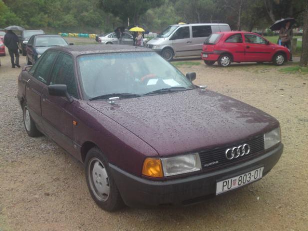 Audi Quattro 80 2,0 16V, 1991 god.