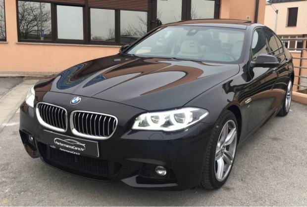 bmw f10 lci 530d xdrive full led m paket individual 67tkm top 2014 god. Black Bedroom Furniture Sets. Home Design Ideas