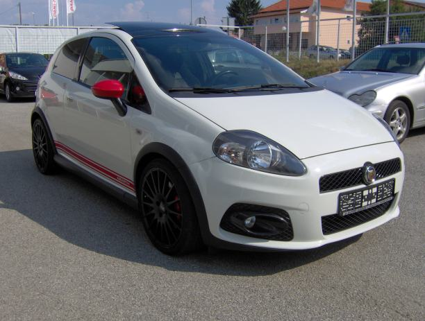 fiat grande punto 1 4 16v t jet abarth 2009 god. Black Bedroom Furniture Sets. Home Design Ideas