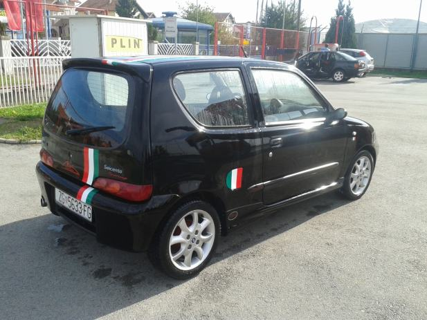 fiat seicento michael schumacher limited edition 2001 god. Black Bedroom Furniture Sets. Home Design Ideas