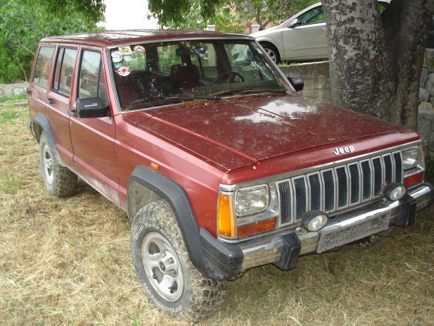 jeep cherokee 2 1 td 1985 god. Black Bedroom Furniture Sets. Home Design Ideas