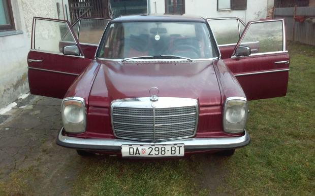 Mercedes 115 240 diesel 1976 god for Mercedes benz 240 diesel