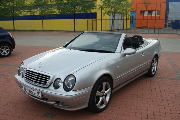 mercedes clk cabrio 200 sport 1998 god. Black Bedroom Furniture Sets. Home Design Ideas