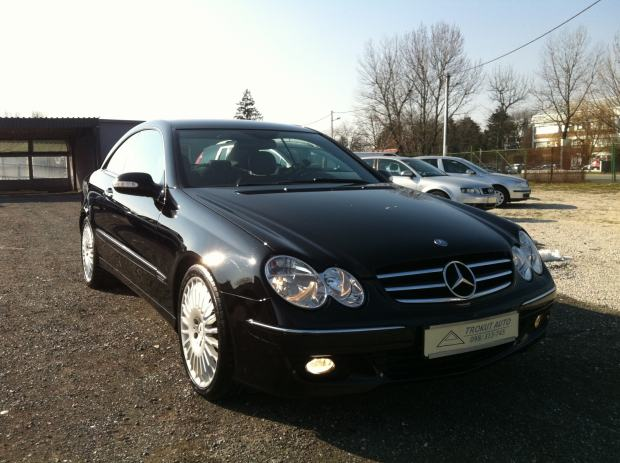 mercedes clk coupe 220 cdi avantgarde 2006 g 2006 god. Black Bedroom Furniture Sets. Home Design Ideas