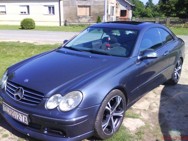 hitno mercedes clk coupe 270 cdi brabus look hitno 2003 god. Black Bedroom Furniture Sets. Home Design Ideas