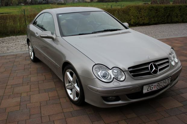mercedes clk coupe 320 cdi automatik 2005 god. Black Bedroom Furniture Sets. Home Design Ideas