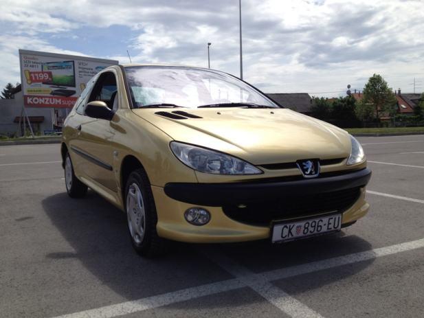 Peugeot 206 1.4 xs, 2003 god.