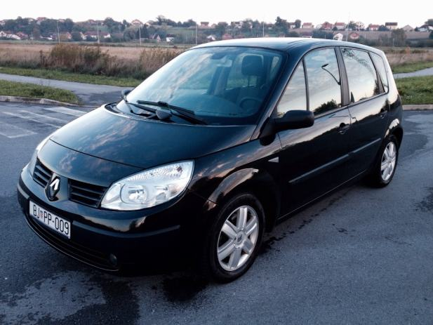 renault scenic 1 9 dci 130 ks 6 brzina klima alu 2006 god. Black Bedroom Furniture Sets. Home Design Ideas