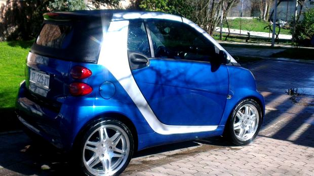 smart fortwo cabrio automatik 2007 god. Black Bedroom Furniture Sets. Home Design Ideas