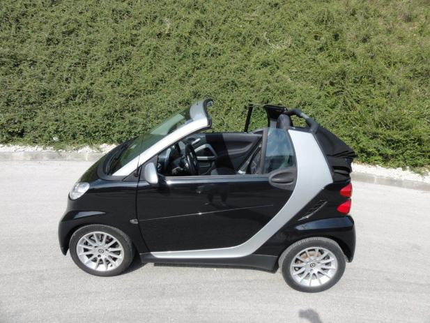 smart fortwo cabrio passion automatik 2008 god. Black Bedroom Furniture Sets. Home Design Ideas