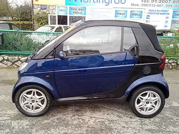 smart fortwo cabrio 2003 automatik rate. Black Bedroom Furniture Sets. Home Design Ideas