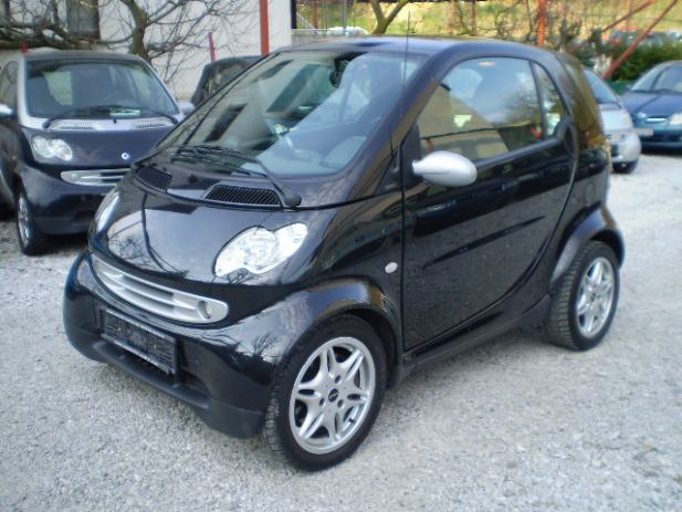 smart fortwo coupe 0 7 passion automatik 2004 god. Black Bedroom Furniture Sets. Home Design Ideas