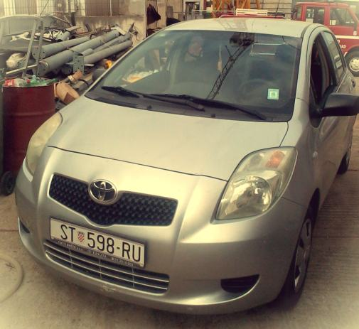 Toyota Yaris 1,0 VVT-i, 2007 God