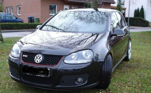 vw golf 5 gti dsg bj 2007 19 zoll alufelgen 30000 km. Black Bedroom Furniture Sets. Home Design Ideas