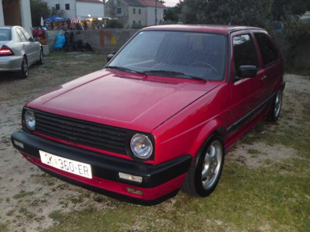vw golf ii 1 6 turbo diesel 1991 god. Black Bedroom Furniture Sets. Home Design Ideas