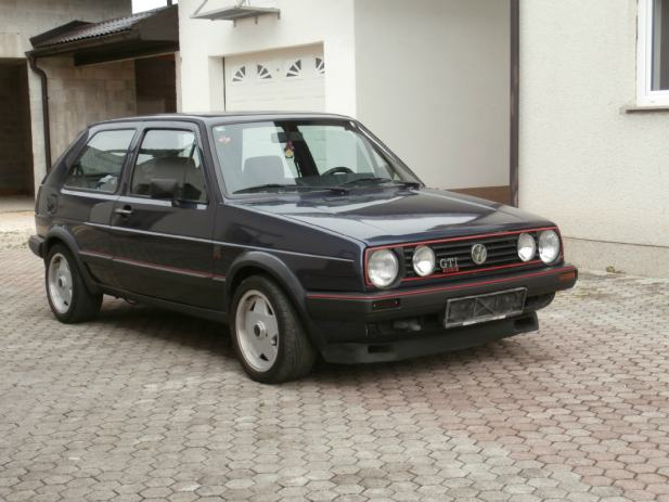 vw golf ii gti 16v 1986 god. Black Bedroom Furniture Sets. Home Design Ideas