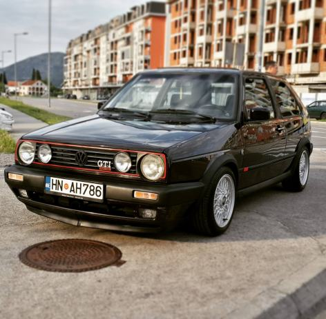 vw golf ii gti edition one 1990 god. Black Bedroom Furniture Sets. Home Design Ideas