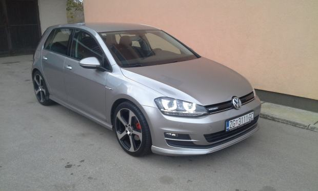 vw golf vii 1 6 tdi bmt 110 ps 6 brzina alu 18 r gti. Black Bedroom Furniture Sets. Home Design Ideas