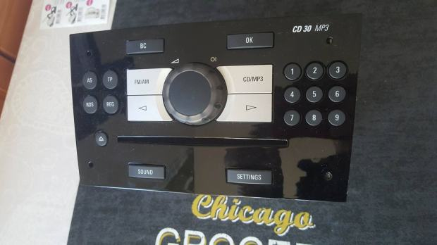 auto cd30 mp3 radio za opel corsa d. Black Bedroom Furniture Sets. Home Design Ideas