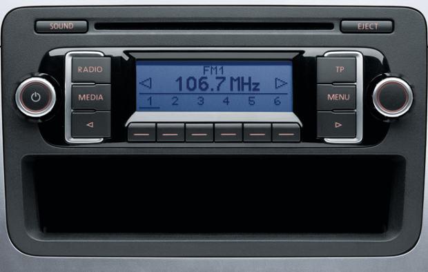 original cd mp3 radio za vw golf caddy passat rcd210. Black Bedroom Furniture Sets. Home Design Ideas