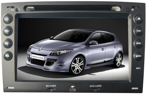 renault megane clio gps dvd. Black Bedroom Furniture Sets. Home Design Ideas
