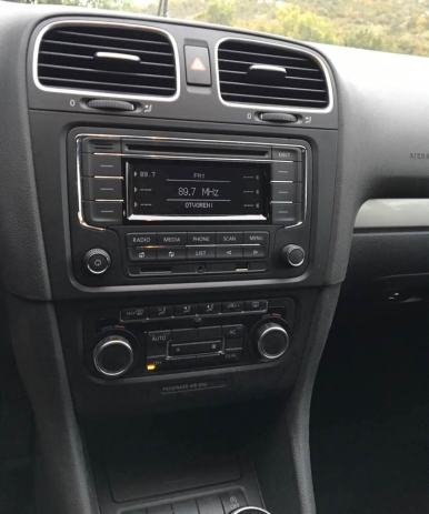 original radio vw golf 5 6 eos passat sd usb aux. Black Bedroom Furniture Sets. Home Design Ideas
