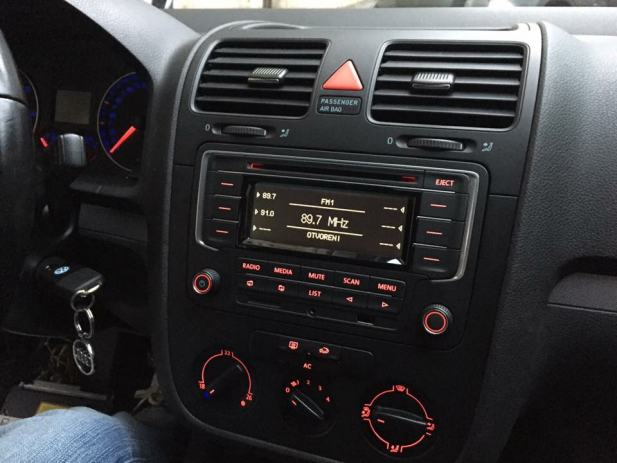radio vw golf 5 6 eos passat sd usb aux cd. Black Bedroom Furniture Sets. Home Design Ideas