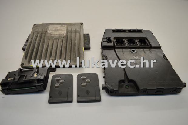 renault megane 2 set paljenja uch upc ecu 8200259832 8200308212. Black Bedroom Furniture Sets. Home Design Ideas