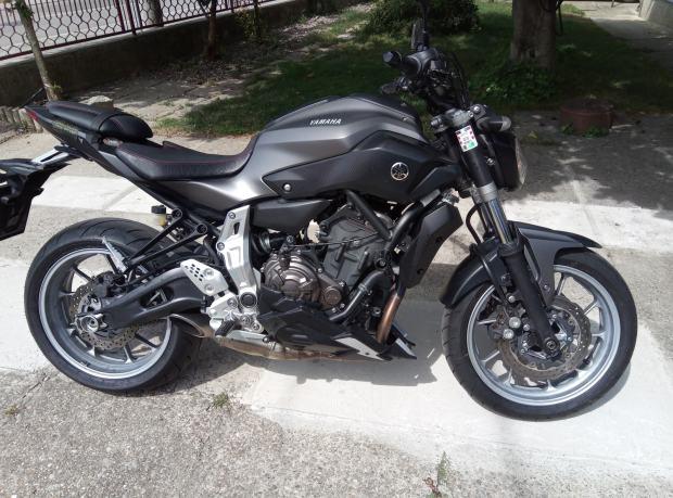 Yamaha Mt 07 Mt07 Titan Akrapović 2014 God