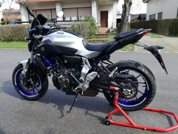 Yamaha Mt 07 Race Blue 2015 God