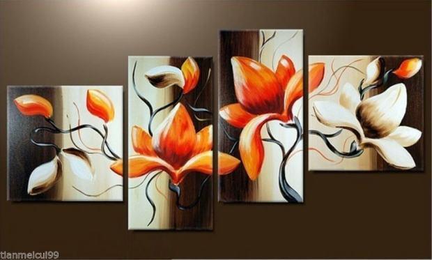 Zidne slike umjetni ke i moderne u dijelovima - Pinturas acrilicas modernas ...