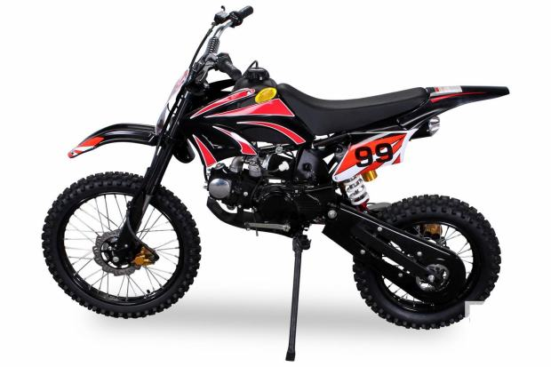cross dirtbike jugend jc125 dje ji cross motor 125 ccm 4 takt. Black Bedroom Furniture Sets. Home Design Ideas
