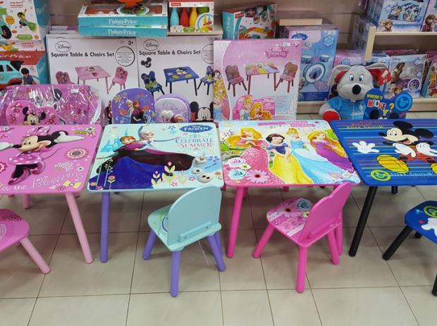 Minnie Mouse Stoel : Dječji stol drveni lakirani stolice minnie mouse