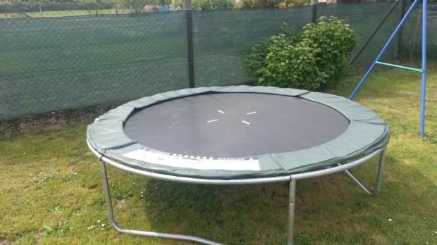 trampolin 250 cm. Black Bedroom Furniture Sets. Home Design Ideas